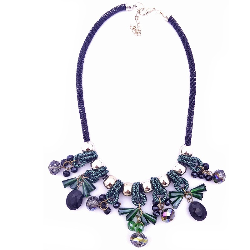 Deluxe Green Necklace - K14030