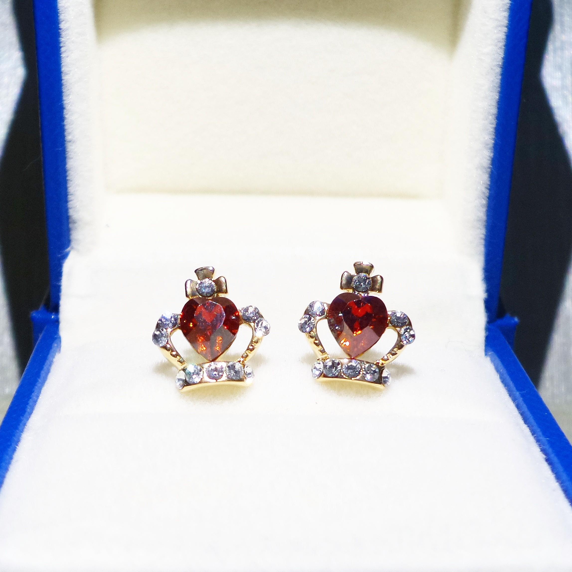 Tundra Crown Earring - AS17025