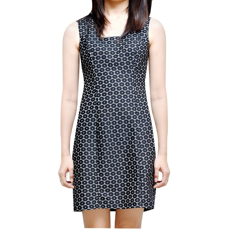 Polka Jacquard Dress - WD14001